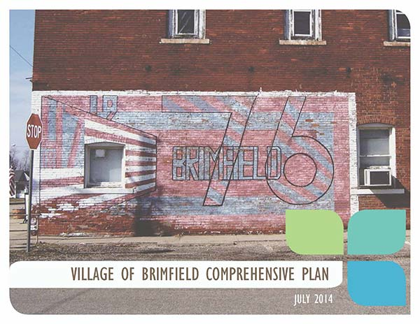 Cover of Brimfield Comprehensive Plan 2014