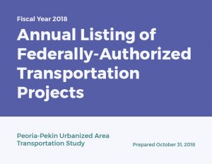 Cover of PPUATS Annual Listing of Federally-Authorized Transportation Projects