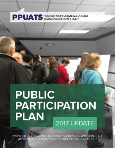 Cover of the PPUATS Public Participation Plan