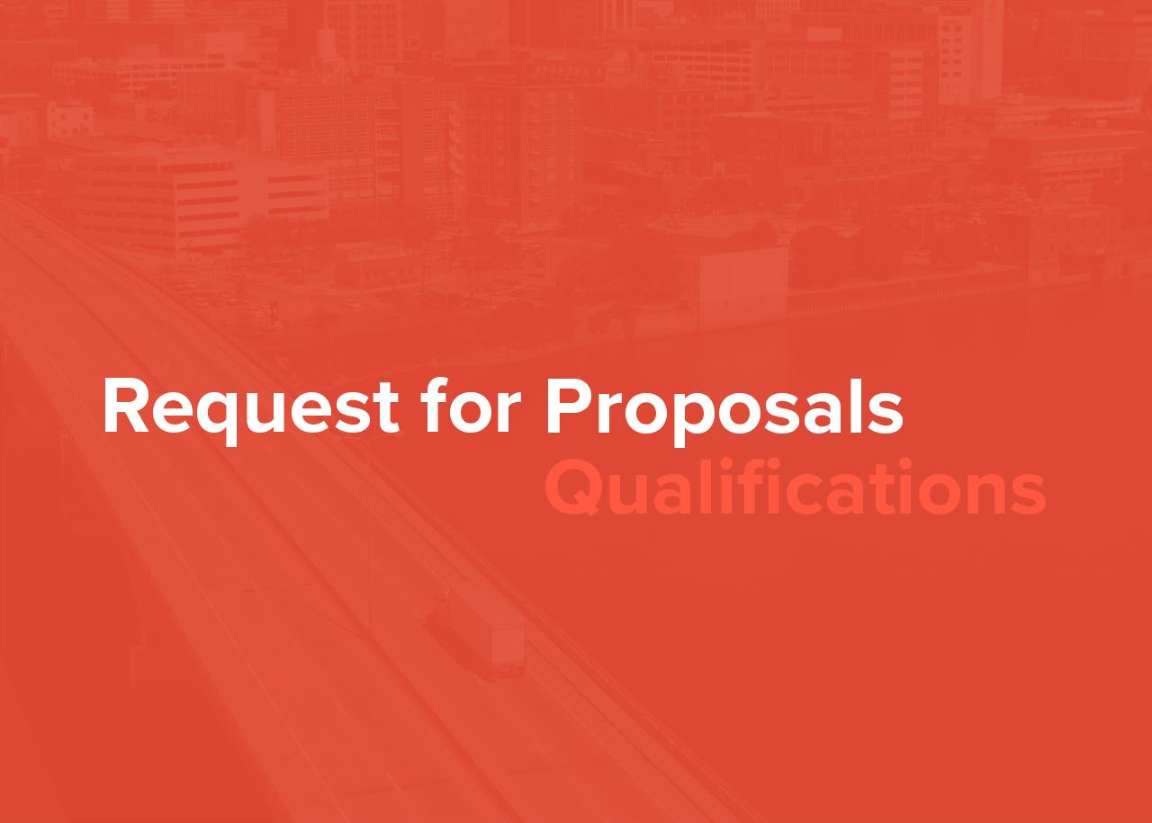 Request for Proposals: PPUATS Urban Pavement Survey